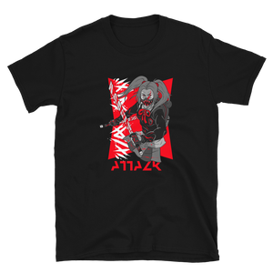 Attack Japanese Anime Style Unisex T-Shirt