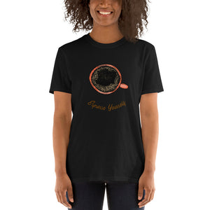 Espresso yourself Short-Sleeve Unisex coffee T-Shirt