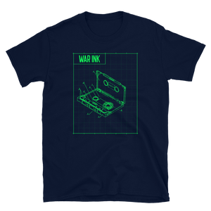WAR Ink cassette tape Diagram Unisex T-Shirt