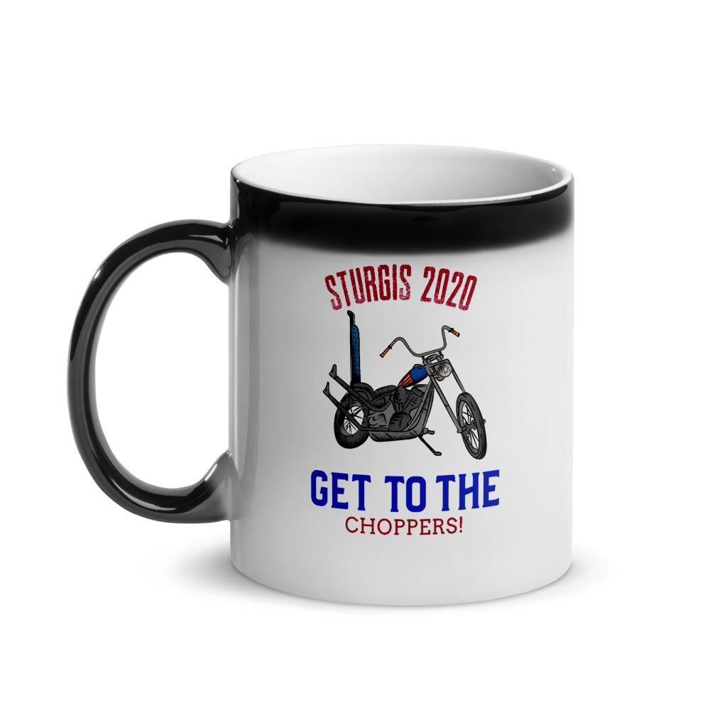 Sturgis Get to the Choppers Glossy Magic Mug