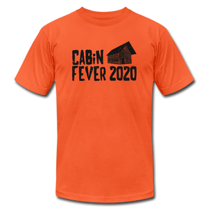 Cabin Fever 2020 Unisex Jersey T-Shirt by Bella + Canvas - orange