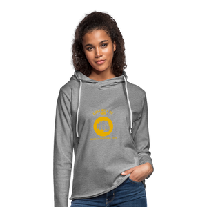 First rule of 2021 Unisex Lightweight Terry Hoodie - heather gray