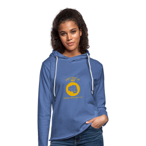 First rule of 2021 Unisex Lightweight Terry Hoodie - heather Blue