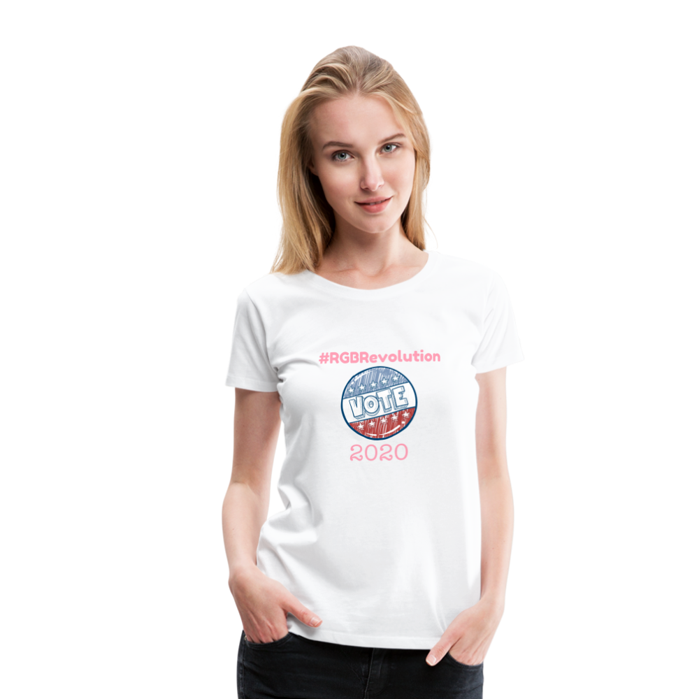 RGB Revolution Women's Premium T-Shirt - white