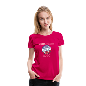 RGB Revolution Women's Premium T-Shirt - dark pink