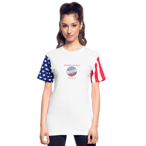 RGB Revolution Stars & Stripes Unisex T-Shirt - white