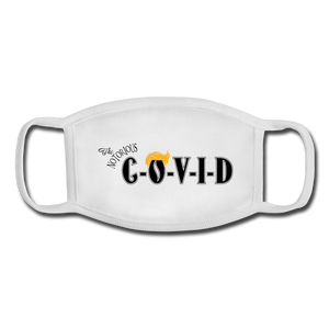 The Notorious COVID Youth Face Mask - white/white