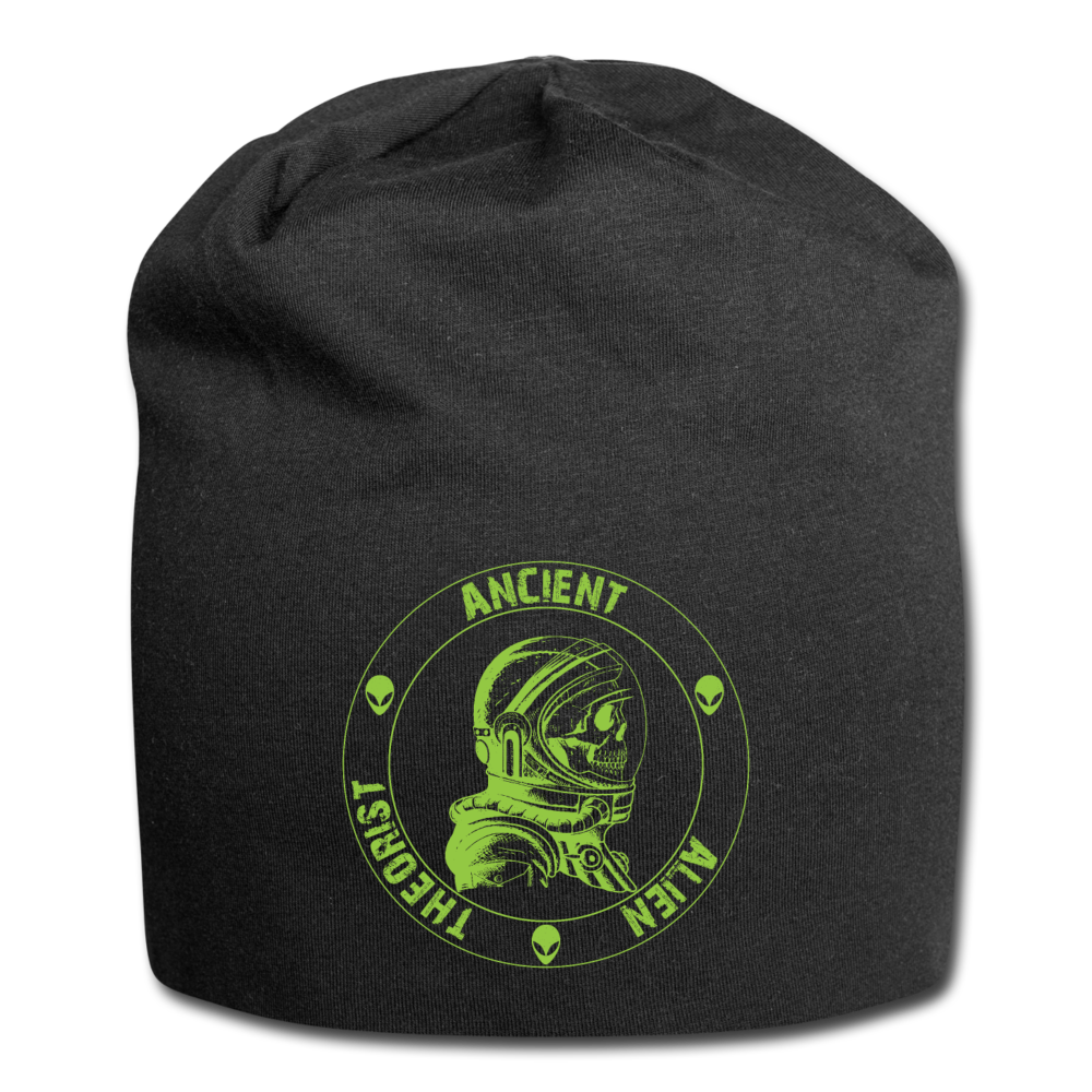 Ancient Alien Theorist Jersey Beanie - black