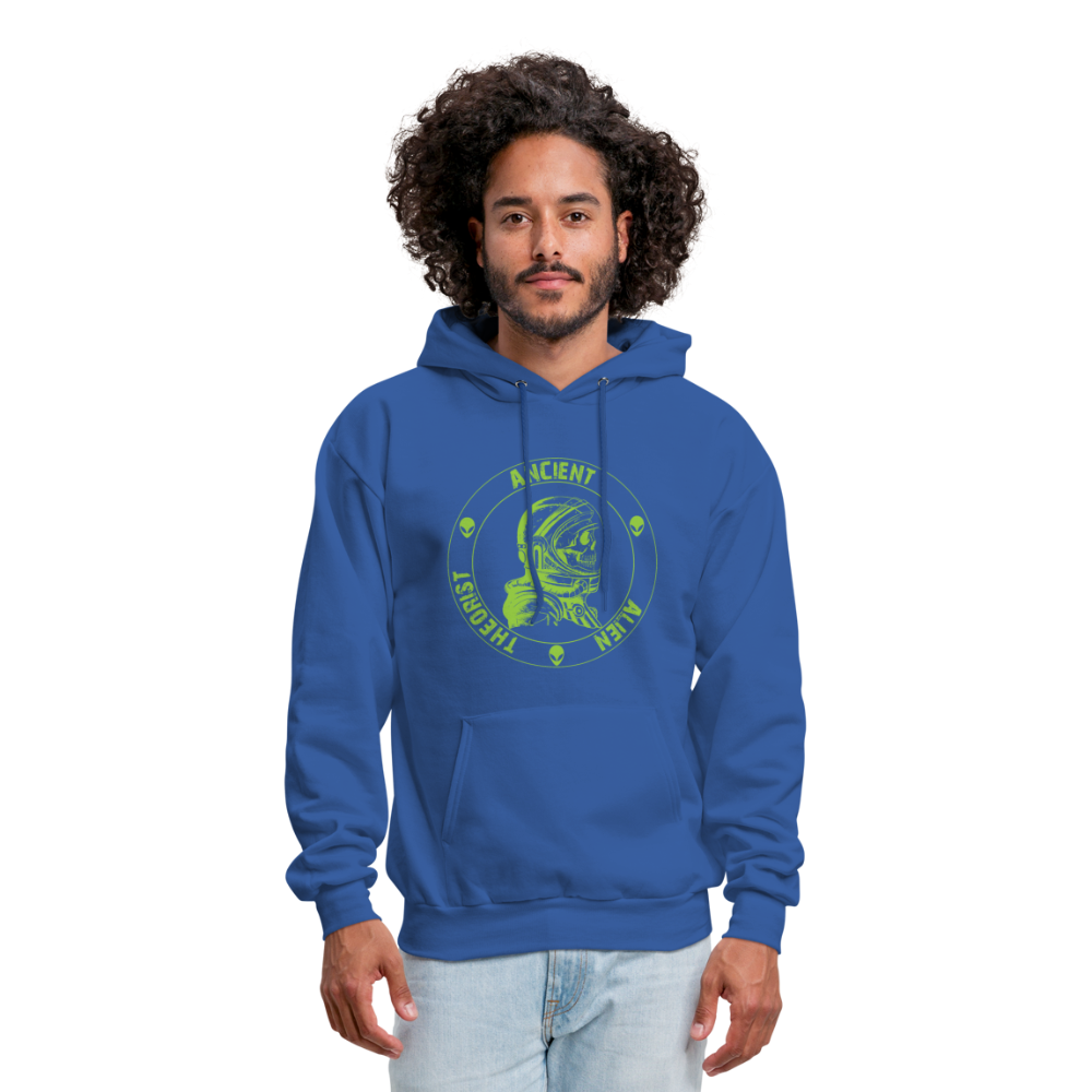Ancient Alien Theorist Unisex Hoodie - royal blue