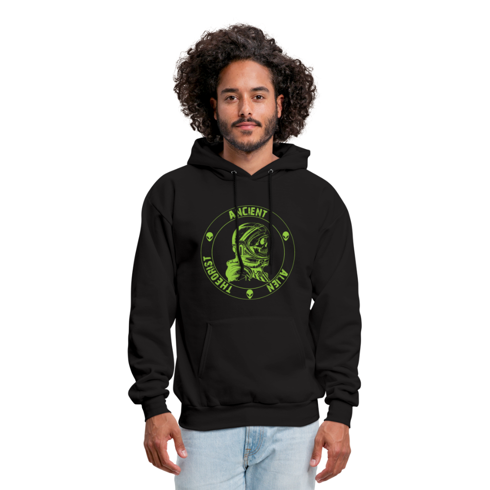 Ancient Alien Theorist Unisex Hoodie - black