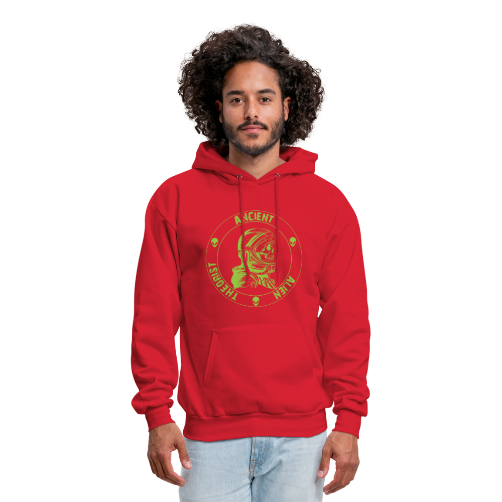 Ancient Alien Theorist Unisex Hoodie - red