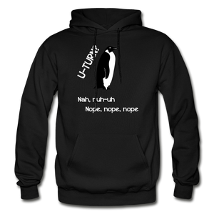 U-turn Nope Nope Nope Gildan Heavy Blend Adult Hoodie - black