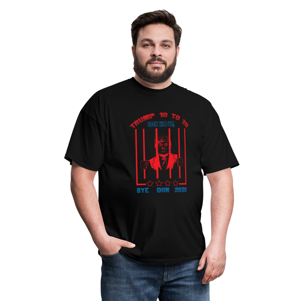 Lock Him Up - Trump 10 to 20 Unisex Classic T-Shirt - black