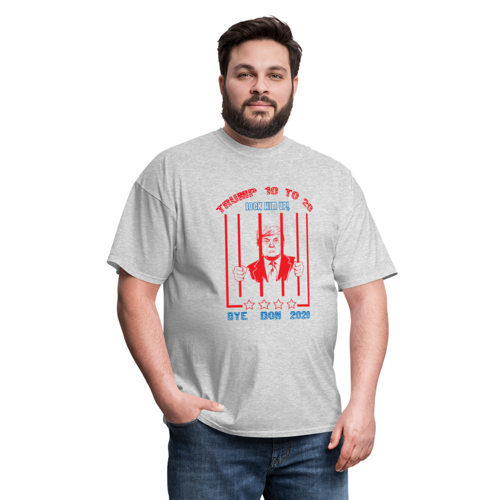 Lock Him Up - Trump 10 to 20 Unisex Classic T-Shirt - heather gray