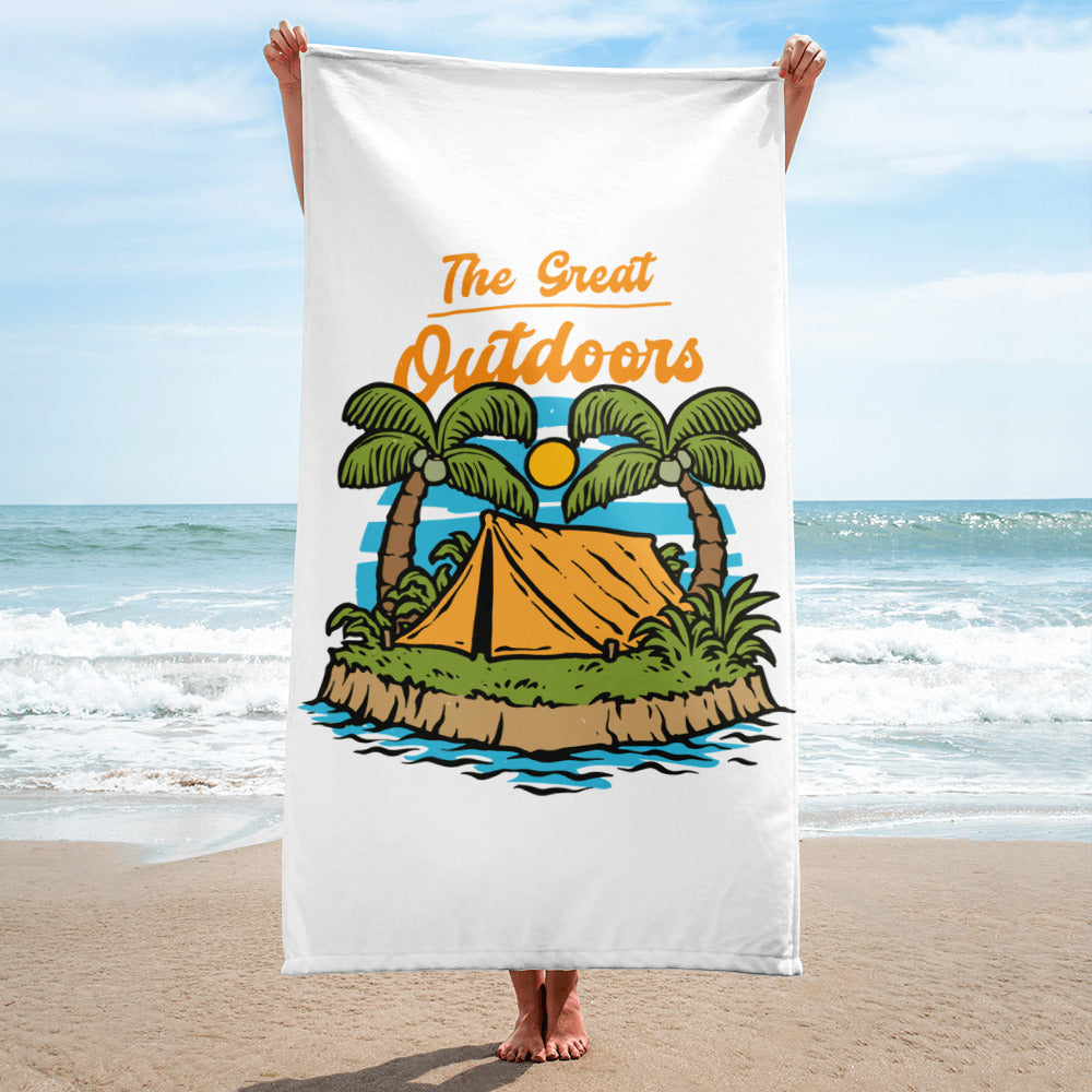 The Great Outdoors Beach Towel