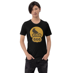 Route 666 Old Crow Short-Sleeve Unisex T-Shirt