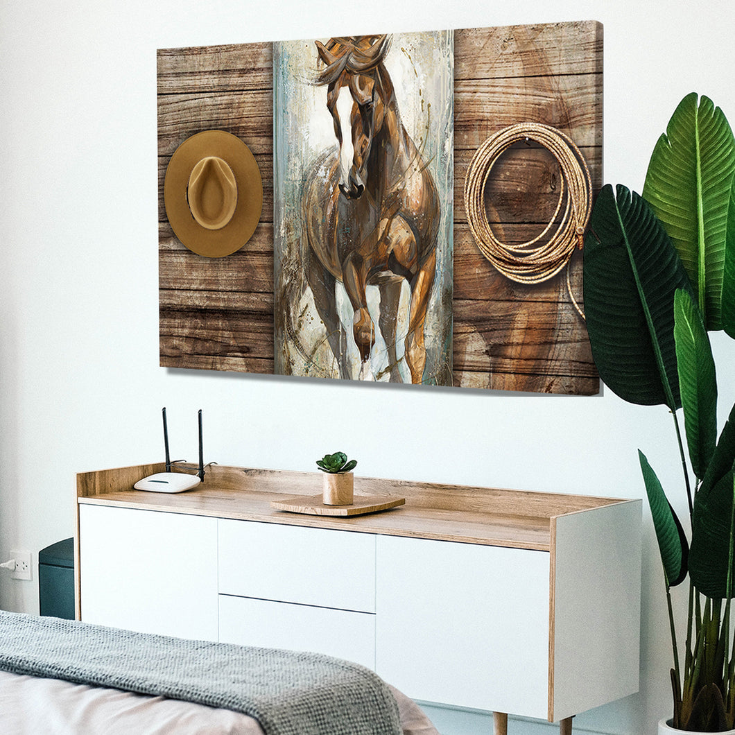 Noble Horse Canvas