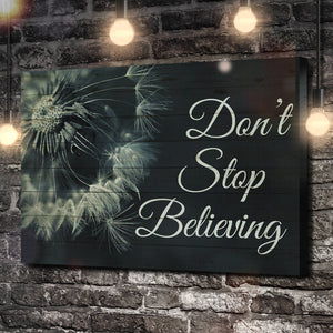 Don't Stop Believing Canvas
