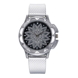 Crystal Diamond Women Watch