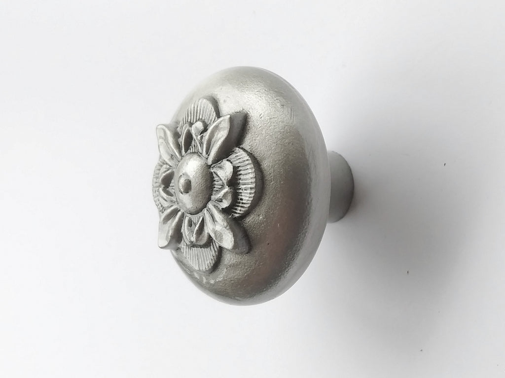 Spanish Cupboard - Pewter Knob