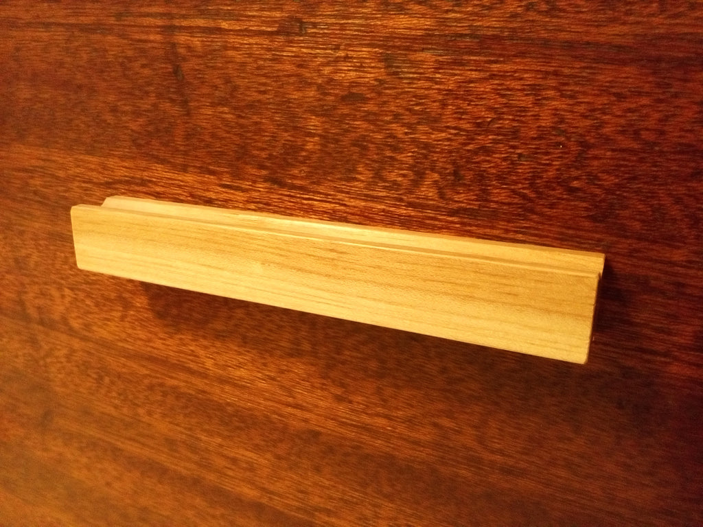 Basic Hickory Wood Cabinet Pull