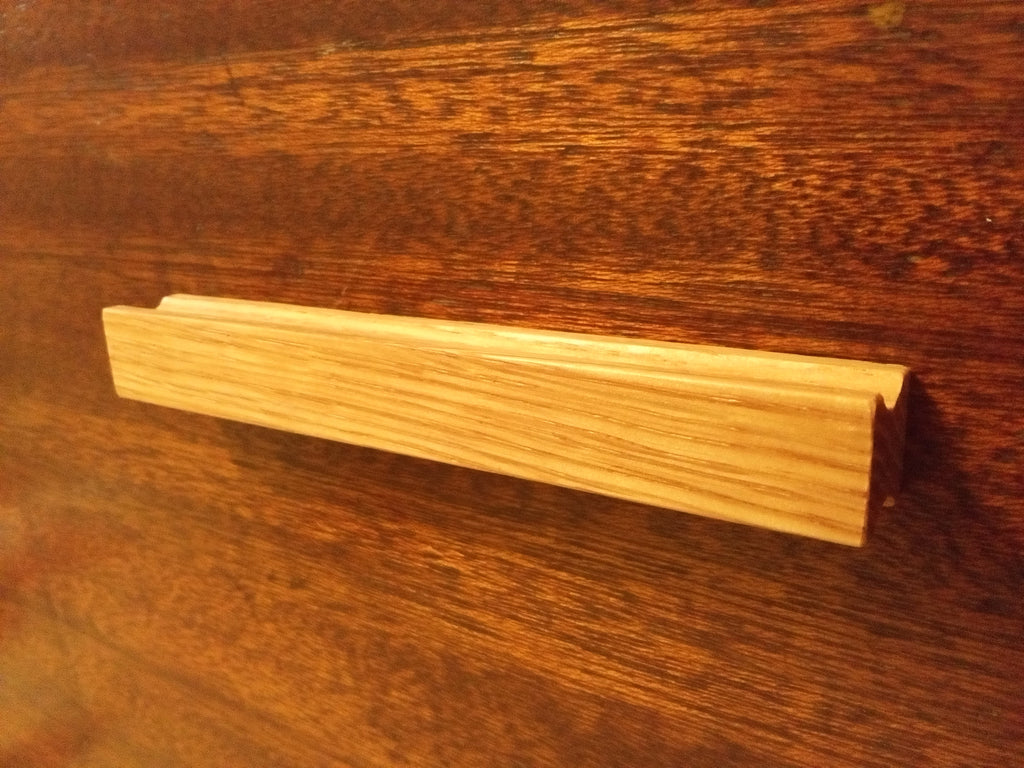 Basic Oak Wood Cabinet Pull