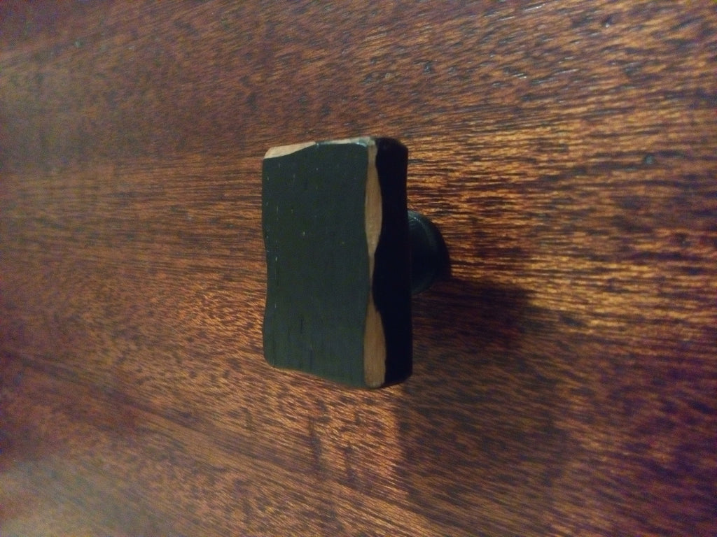 "Distressed Wood Cabinet Cabinet Knob-Black-""Cabinet Home"""