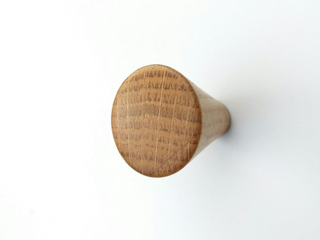 Modern White Oak Wood Cabinet Knob