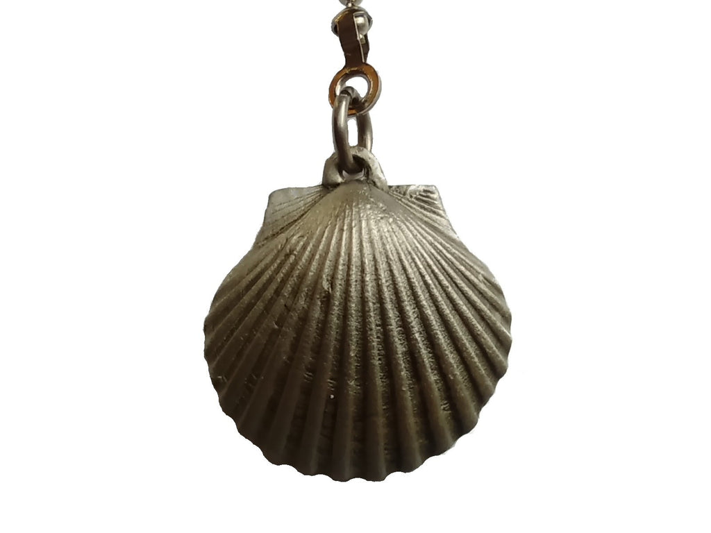 Pewter Seashell Ceiling Fan Pull Chain