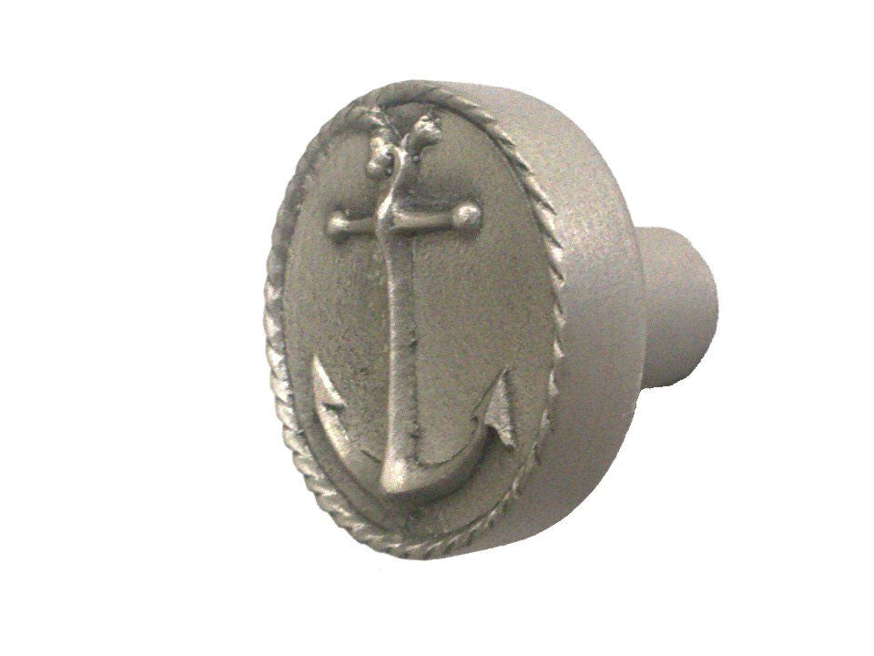 Pewter Anchor Cabinet Knob