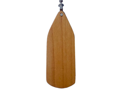 Cherry Wood Ceiling Fan Pull-Fan Blade Shape