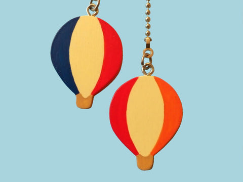 Hot Air Balloon Ceiling Fan Pull Chain Set