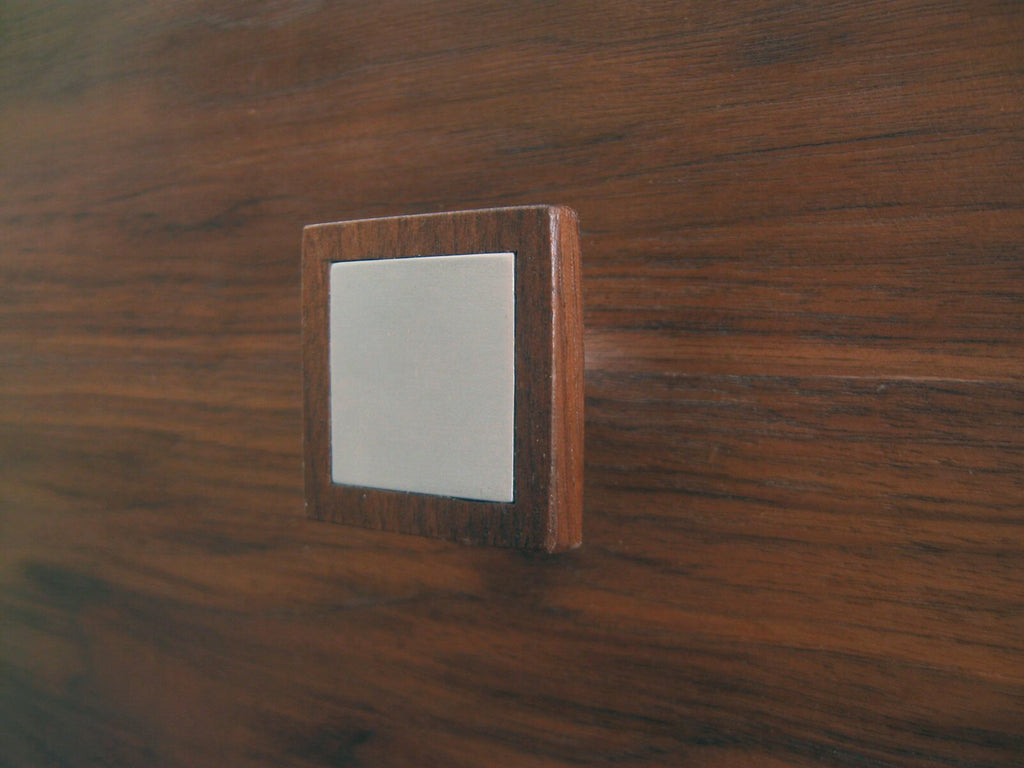 knob wood aluminum contemporary hardware