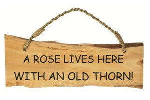 Rose and Thorn Sign