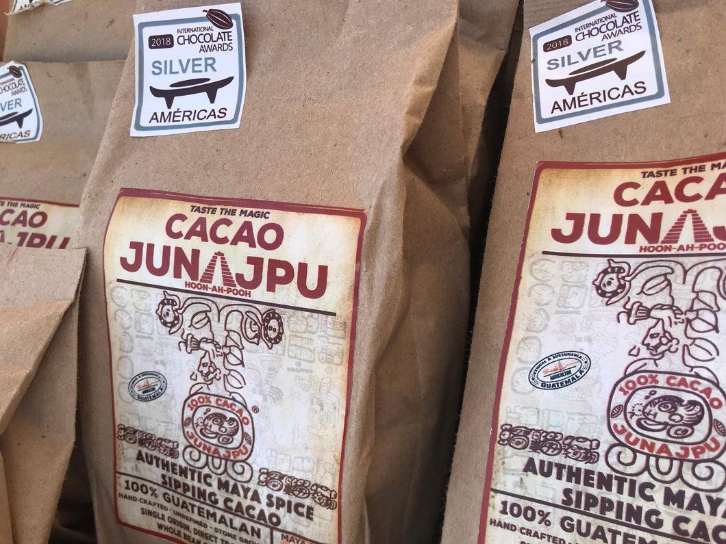 BULK SPECIAL❤️ 8 LB Mayan Spice Hot Sipping Cacao  / 8-Pack of 1 LB Bags of Junajpu Cacao