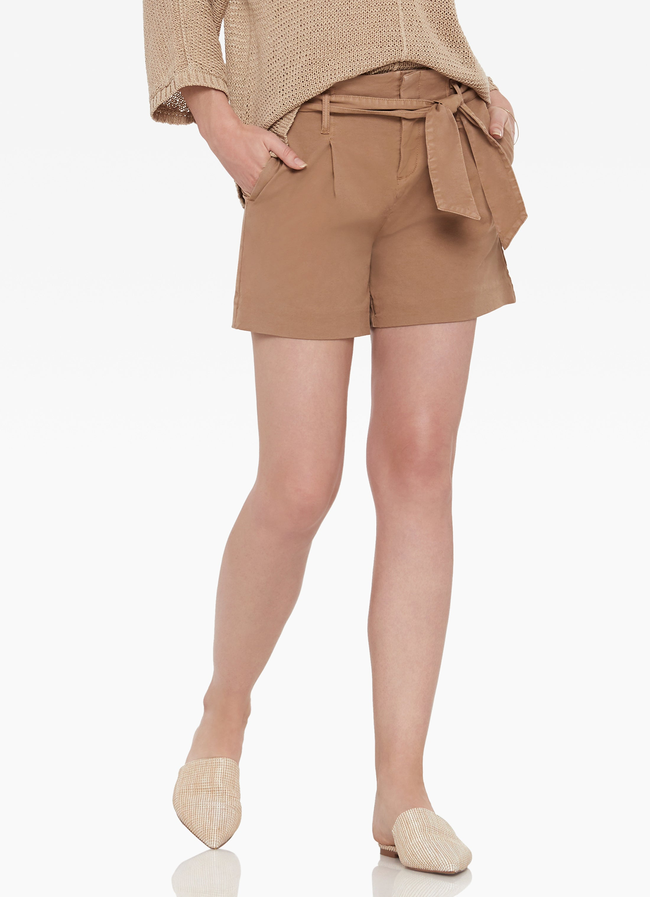 Firenze Paper Bag Waist Short
