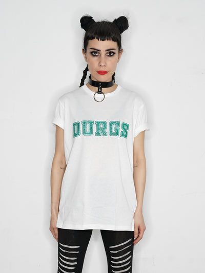 The Publisher // DURGS t-shirt // white