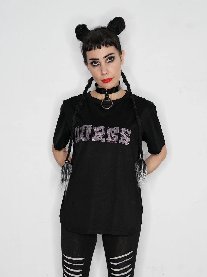 The Publisher // DURGS t-shirt // black
