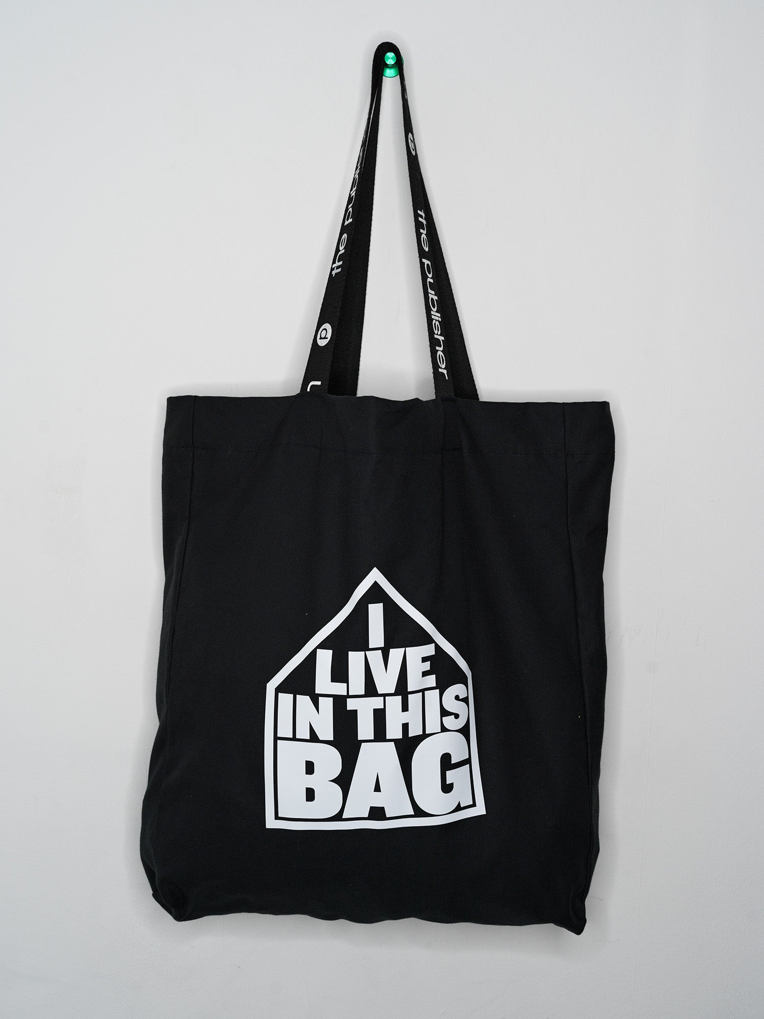 The Publisher // I live in this bag