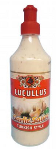 Lucullus Garlic Sauce Turkish, 500ml