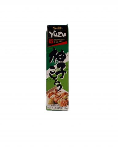Spicy Yuzu Paste (Yuzukoshu) 43g-Japanse producten-indofood2go