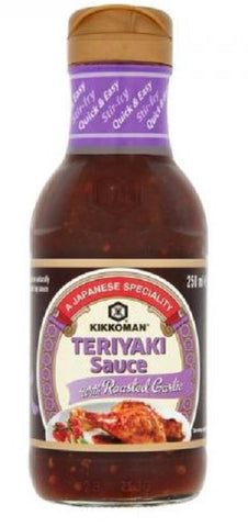 Kikkoman Teriyaki Garlic, 250ml