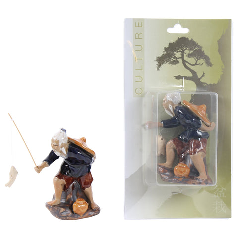 Bonsai accessoires Fisherman (ceramics)-Bonsai-indofood2go