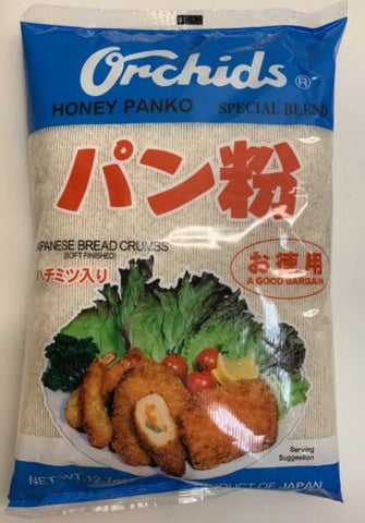 Brood kruimels Orchids Honey Panko, 360g