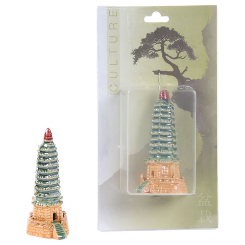 Bonsai accessoires Pagoda (ceramic)-Bonsai-indofood2go