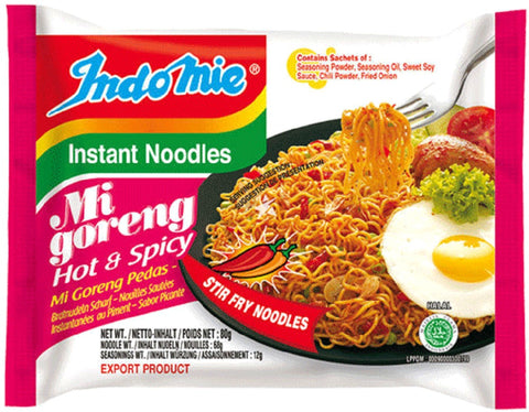 Mi Goreng Hot & Spicy 80g