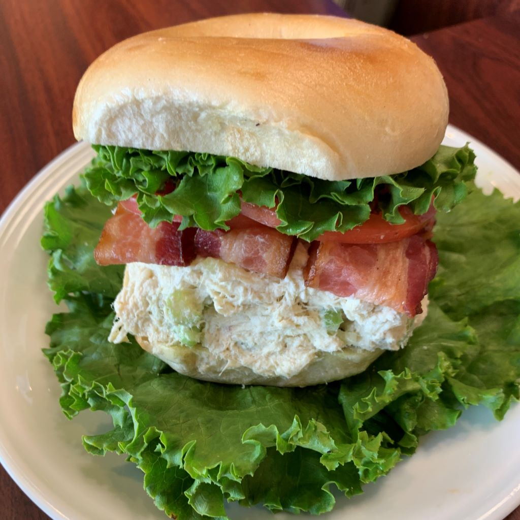 Bronxville - Chicken Salad, Bacon, Lettuce, Tomato