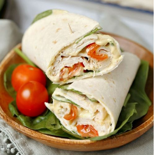 Park Place Honey Turkey Wrap