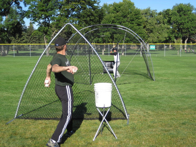 The Portable Batting Cage