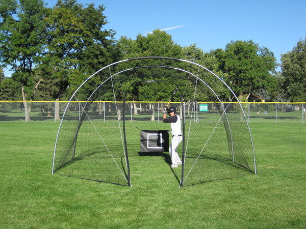 backyard batting cage portable batting cage for mobile practice rh morrowsports com best home batting cages best backyard batting cage